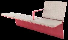 ספסל ענבר 3 מושבים