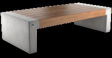 ספסל אפק עץ מורחב