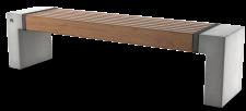 ספסל אפק עץ