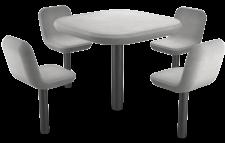 מערכת מושב ומשענת