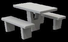 מערכת ישיבה חורש בטון