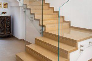 מדרגות קפוצ'ינו בית פרטי בשדמה