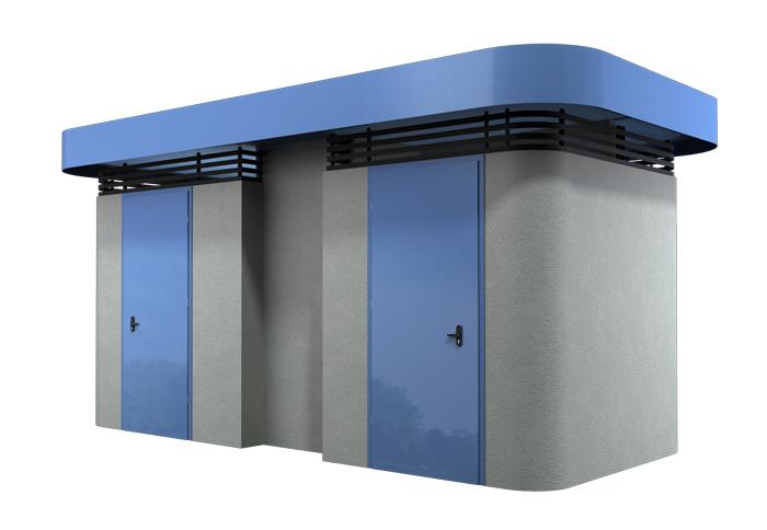 מבנה שירותים תבור