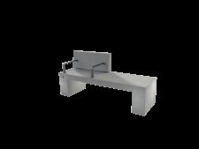 ספסל נגב עם משענת ושני מסעדי יד