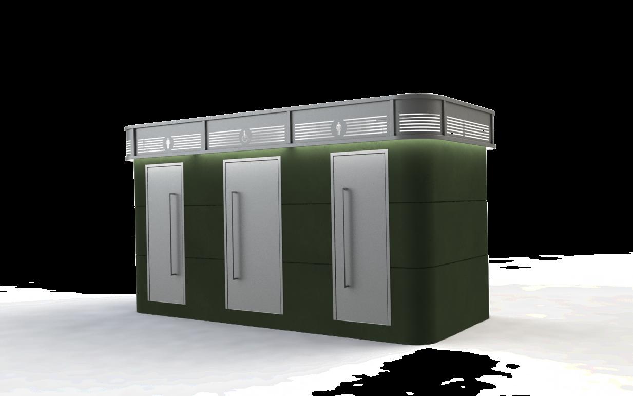 מבנה שירותים ארבל