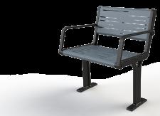 מושב פלד מתכת יציקת ברזל