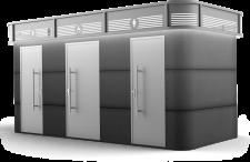 מבנה ארבל 3 דלתות